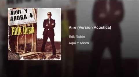 Aire (Versión Acústica) - Erik Rubín
