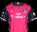 Camiseta Tercera Hamburgo SV FIFA 18