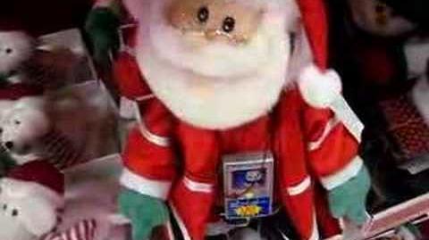 Animated Hip Hop Santa