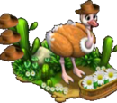 Cowboy Ostrich