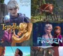 Rise of the Brave Tangled Frozen Moana Dragons
