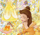 Belle Shiny Yellow Coord