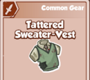 Tattered Sweater-Vest