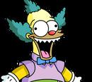 Boneco Krusty assasino