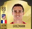 Antoine Griezmann Card FIFA 18