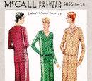 McCall 5856 A