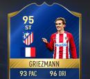 Antoine Griezmann TOTS Card FIFA 17