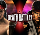 'Mortal Kombat vs Street Fighter' themed Death Battles