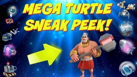 Brini/Mega-Schildkröte Sneak Peek