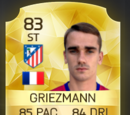 Antoine Griezmann Card FIFA 16