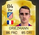 Antoine Griezmann Up Card FIFA 16