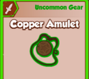 Copper Amulet