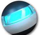 Blue plasma bomb