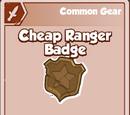 Cheap Ranger Badge