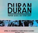 Paper Gods on Tour 2017 - Miami