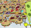 Krabby Patty creatures