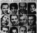 Appearing In Holiday Nightclub Shows