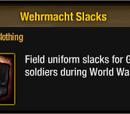 Wehrmacht Slacks