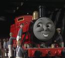 James Recibe una Nueva Capa de Pintura