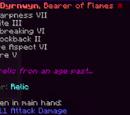 Dyrnwyn, Bearer of Flames