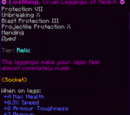 Loathing, Cruel Leggings of Medivh