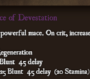 Mace of Devestation