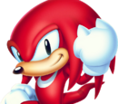 Knuckles the Echidna (Classic Sonic's world)