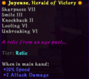 Joyeuse, Herald of Victory