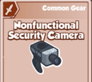 Nonfunctional Security Camera