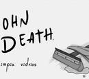 John Death limpia vidrios