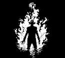 Яркое пламя