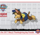 Paw Patrol's Chase