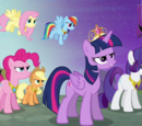 Transcripciones/La Princesa Twilight Sparkle, Parte 1