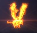 Burning King Ghidorah (Trees Everywhere)