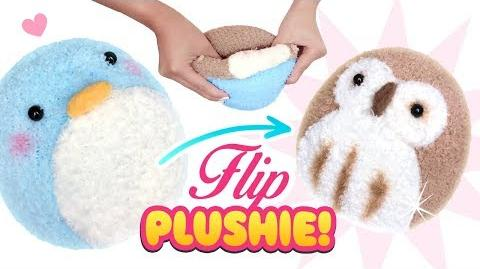 DIY VIRAL REVERSIBLE PLUSHIE!!! Owl & Penguin Sock Plush - Cute Budget Xmas Gift Ideas