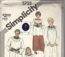 Simplicity 5723 A