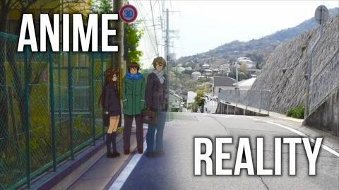 Anime VS Reality 〜 Haruhi Suzumiya