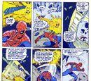 Darkanine/Spider-Man: Spidey tanks mountain busting explosion