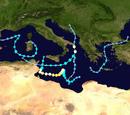 2018 Mediterranean cyclone season (Astro Version)