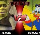 Scrooge McDuck vs Shrek