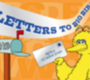 Letters to Big Bird/Gallery