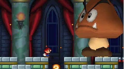New Super Mario Bros. (DS) 100% Walkthrough - World 4 (All Star Coins & Secret Exits)