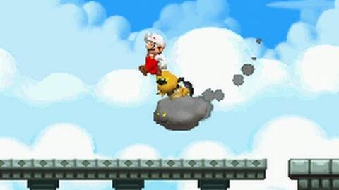 New Super Mario Bros. (DS) 100% Walkthrough - World 7 (All Star Coins & Secret Exits)