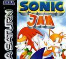 Sonic Jam box artwork