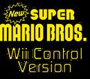 New Super Mario Bros. Wii Control Version