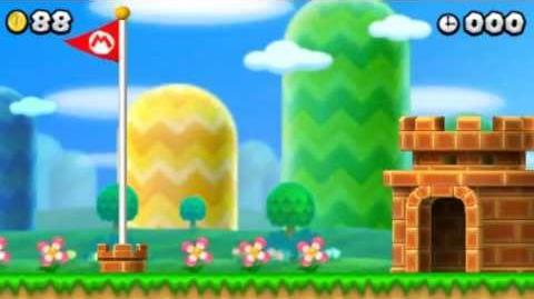 New Super Mario Bros 2 World 1. 2 - 100% Walkthrough - Intro & World 1 (All Star Coins & Secret Exits)