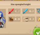 Star-Spangled knight