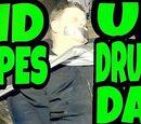 KID TAPES UP DRUNK DAD!!!