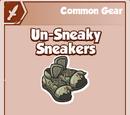 Un-Sneaky Sneakers