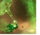 Humanoid Green Lantern